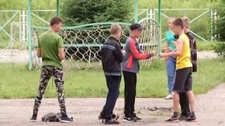 """""""Пожарный десант"""" высадился в лагере """"Жемчужина"""" (РИА Биробиджан)"""