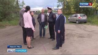 В Нарьян-Маре жители домов на Первомайской жалуются на водителей грузовиков