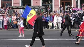 Фестиваль цветов в Петербурге 11 июня 2018 года. Часть 3