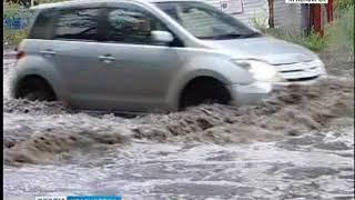 Мэрия Красноярска планирует работы по реконструкции ливневой канализации на улице Авиаторов