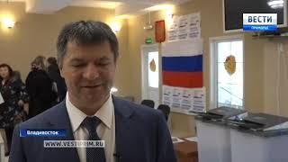 Андрей Тарасенко отдал свой голос за будущего Президента. 2