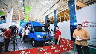 ОТРК «Югра» презентовала на IT-форуме передвижную телестанцию HD