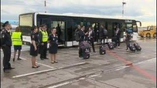 Мексиканская сборная прилетела в Россию на чемпионат мира-2018 - Россия 24