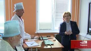 Министр здравоохранения в МГУ им. Н.П.Огарёва в Саранске