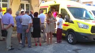 Спустя 27 мь лет свои двери открыла станция скорой помощи в Форосе
