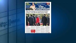 """Британские СМИ: """"На саммите ЕС унизили Мэй"""""""