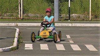 Из югорских детей делают мастеров по вождению
