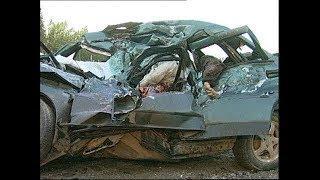Жестокие аварии на на видеорегистратор, ДТП на дорогах  Car Crash Compilation