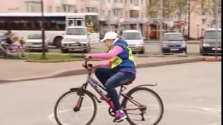 «Безопасное колесо» соревнование среди велосипедистов