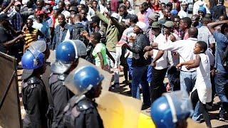Массовые беспорядки в Хараре