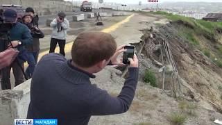 Реконструкцию Портового шоссе и укрепление берега могут включить в Дальневосточный план