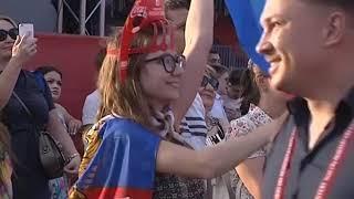 За время ЧМ ростовскую фан-зону посетили более 500 тысяч человек