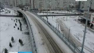 Новую развязку с Николаевского моста решено открыть для движения 30 ноября