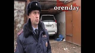 В Оренбурге пытались угнать ленд крузер