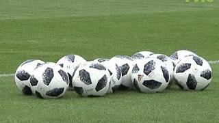 Сборная Швейцарии провела открытую тренировку для зрителей