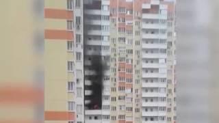 В многоэтажке микрорайона Суворовский загорелась шахта лифта