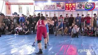 В Леваши прошёл районный чемпионат по вольной борьбе