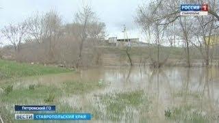 Вода в Калаусе пошла на спад