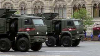 Москва: генеральная репетиция Парада Победы 2018 года