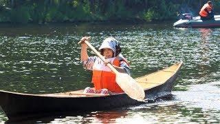 Женские лодочки в Югре мастерили для рыбалки