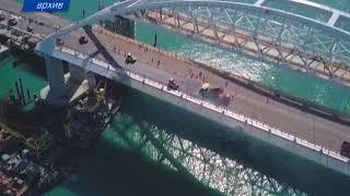 Президент России приедет на открытие моста