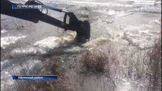 Уровень воды в реках Башкирии стремительно растет