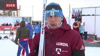 Александр Бессмертных - Чемпионат России по лыжным гонкам 2018 года