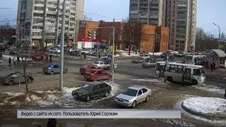 В Рыбинске автобус сбил женщину на пешеходном переходе