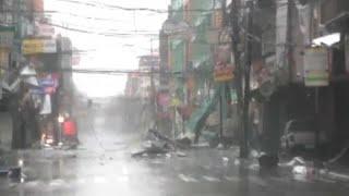 """""""Мангхут"""" пронёсся над Филиппинами"""