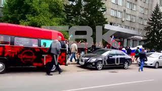 Красноярцы в центре города требуют отмены пенсионной реформы