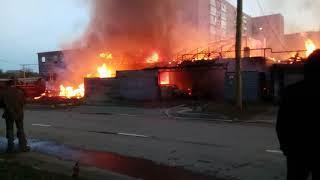 Пожар Нижний Тагил. Ужасная работа пожарных. Помощь от народа, алкашей.