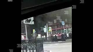 Пожар в центре Челябинска (2)