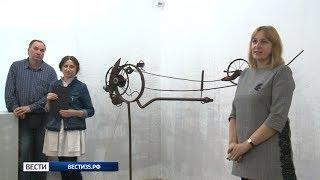 Конструирование как поэзия: выставка Василия Богачёва открылась в Череповце