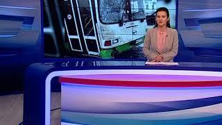 В Рыбинске столкнулись два автобуса, есть пострадавшие