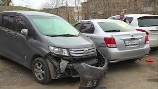 Нетрезвая автомобилистка, не имеющая водительских прав, устроила ДТП с участием пяти авто