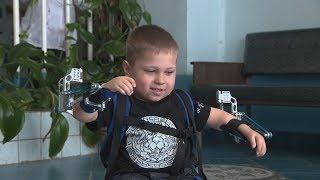 Волгоградские ученые изготовили экзоскелет семилетнему мальчику из Латвии