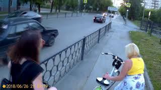 ВЕЛОБЛОГ #80 Прогулка Солнышко Димасик ДТП Поломка