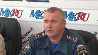 Количество лесных пожаров в Саратовской области выросло почти в два раза