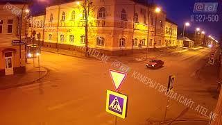 ДТП в Рыбинске 2 декабря