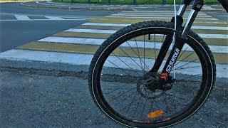 Югорским водителям напомнили о беззащитности велосипедистов