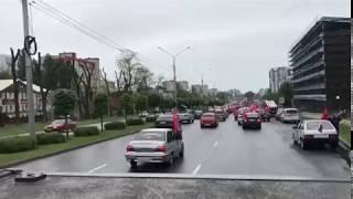 Массовый автопробег в Ставрополе