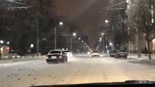 Ночный покатушки 13.2.2018 Ростов на Дону Главный