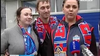 """Футболисты """"Енисея"""" вернулись в Красноярск"""