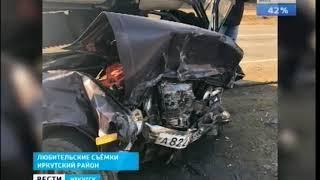 Житель Братска погиб в ДТП в Иркутском районе