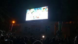 Набережная Хабаровска, матч  Россия-Испания