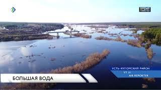 Уровень воды в Усть-Куломском районе упал