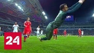 Россия.Турция . 2:0. Голуби на стадионе принесли удачу - Россия 24