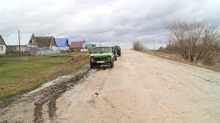 Из-за некачественного щебня жители Белинского района вынуждены добираться до сел в объезд