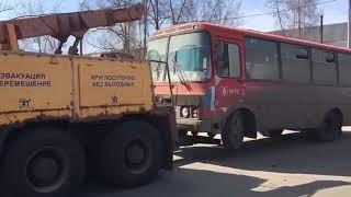 Эвакуация нелегального автобуса
