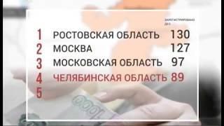 Челябинская область попала в топ регионов по количеству взяток